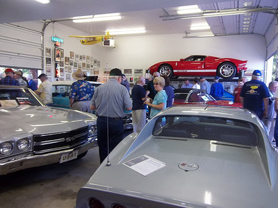 Hosting the Early Ford V-8 Club Garage Tour