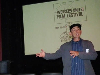 "May 13 Mon 2013 WORKERS UNITE FILM FESTIVAL ""AMERICAN WINTER"""