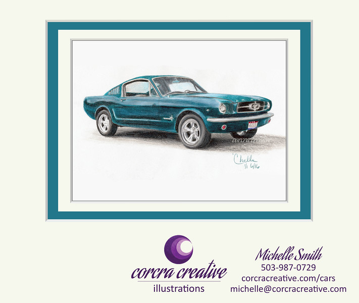 Matted-1965-Mustang-CorcraCreative-illustrations.jpg