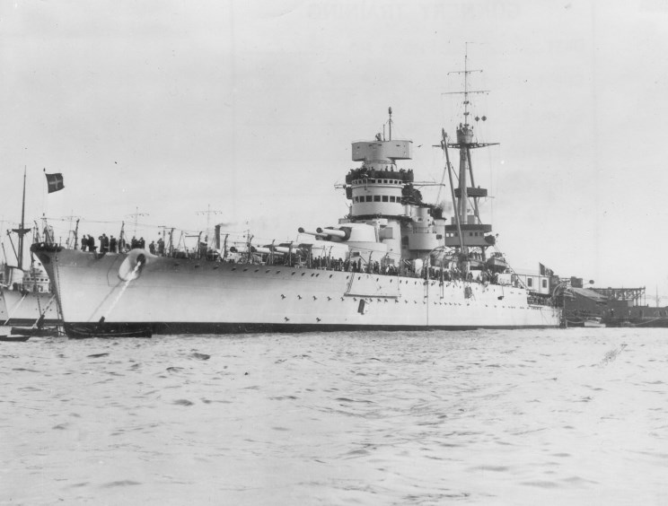 The Italian Battleship, Giulio Cesare.