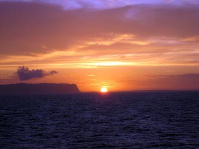 Kauai - Cruising Kauai Sunset Photos