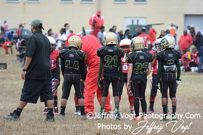 09-26-2015 Montgomery Village Sports Association Chiefs Mighty MItes Green vs Forestville Sports Association Falcons, Photos by Jeffrey Vogt Photography