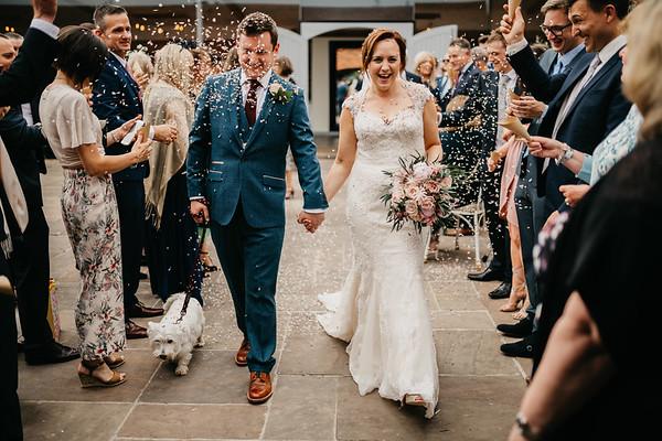 Becks and Ollie - wedding