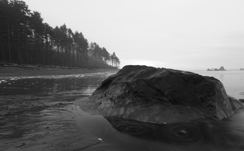 Ruby Beach B+W