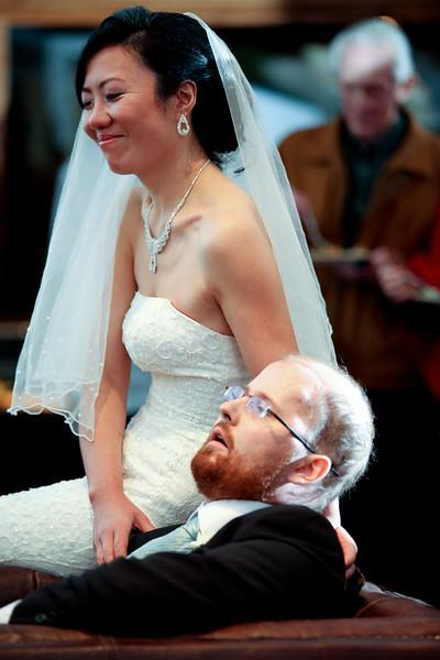 Ian & Sandra - Reception