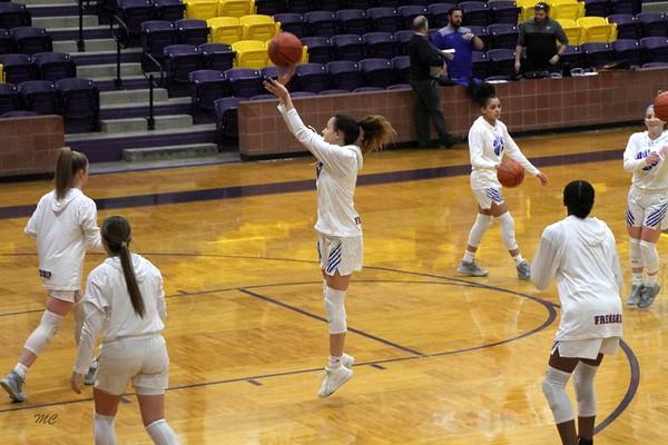Frenship Girls basketball Area Round 2020