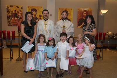 Church School Graduation - June 5, 2011