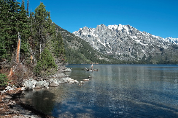 Short Hike to Inspiration Point, Grand Teton National Park