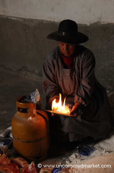 Salt Bagging on the Salar - Colchani, Bolivia