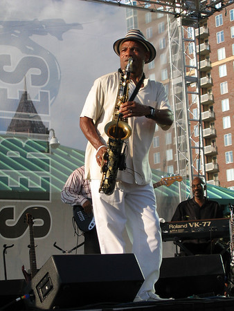 "Kirk Whalum & band at Atlanta's ""Got Jazz"" Series"
