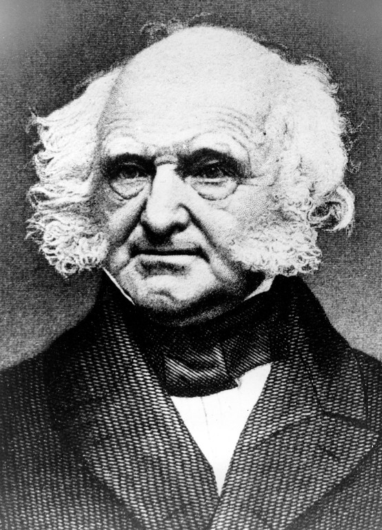 . Martin Van Buren, the 8th President of the United States, is seen in this undated photo.  For the record, VanBuren is the first president who began life in the independent United States of America.  (AP Photo)