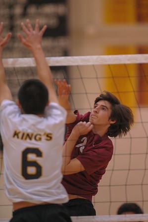 University Prep JV Boy's Volleyball vs. Menlo-Atherton 2015-05-05