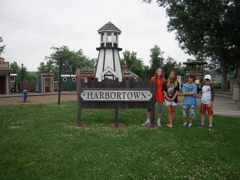 Harbortown on the Susquehanna River