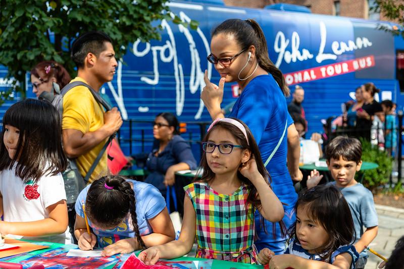 2018_09_15, Bus, Exterior, New York, NY, Viva La Comida