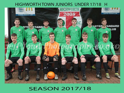 HTJ UNDER 17/18 V  STRATTON JUNIORS 17/18