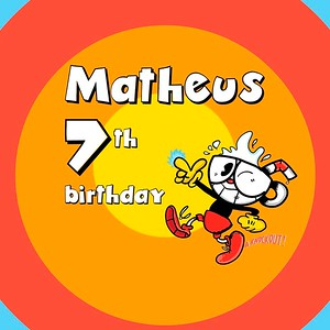 Aniversário | Matheus 7 Anos
