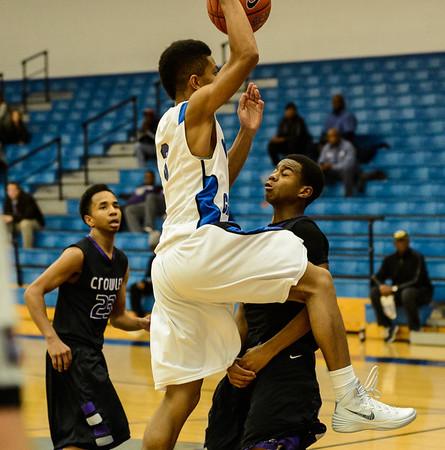 Basketball Junior Varsity vs  Crowley 12-11-13-10