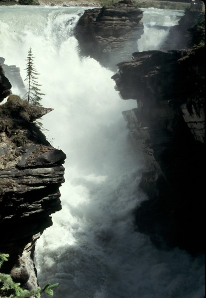 Canadian Rockies - Waterfall.jpg