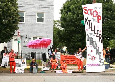 CODEPINK Vigil, Outside National Defense University