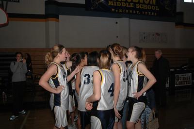 BasketBall District Final vs Johnson