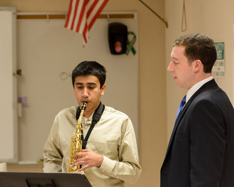Bellevue School of Music student Adithya Mukund performing Concerto by A. Glazounov (3)