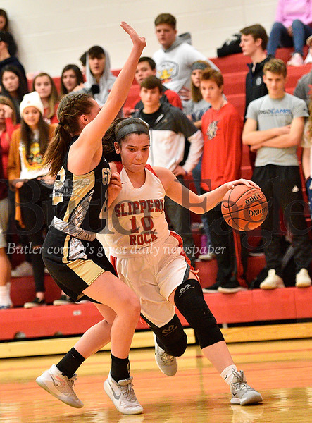 High School Basketballball-Grove City High at Slippery Rock High