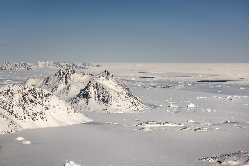 View NE from Apusiaajik, East Greenland