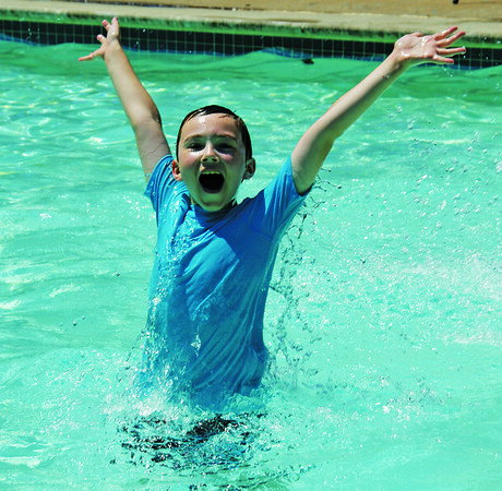 3-1 Channel 3 Kids Camp Boy Jumping in Pool