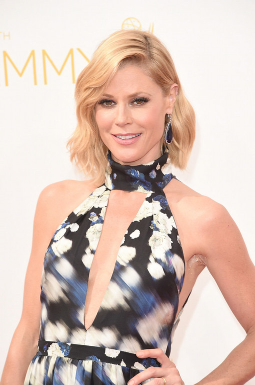 . Actress Julie Bowen attends the 66th Annual Primetime Emmy Awards held at Nokia Theatre L.A. Live on August 25, 2014 in Los Angeles, California.  (Photo by Jason Merritt/Getty Images)