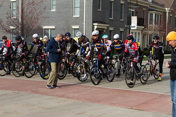 Notre Dame Cycling, April 2018
