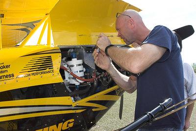 Jim Leroy's New Bulldog II for the 2007 Airshow season