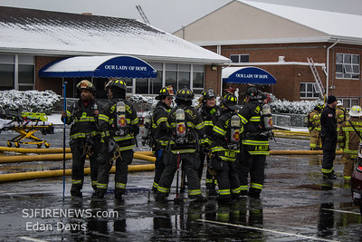 03/01/2019, 3 Alarm Building, Gloucester Twp. Camden County NJ, 420 S. Black Horse Pike, Our Lady of Hope Catholic School