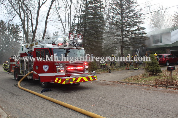1/7/20 - East Lansing house fire, 1225 Ivanhoe