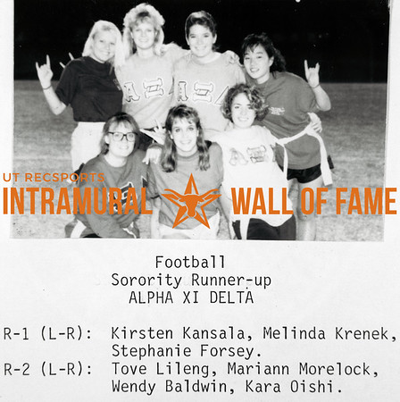 Intramural Champs 1989-90