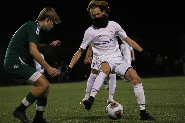 Leland soccer vs. Grandville Calvin Christian, Nov. 4, 2020