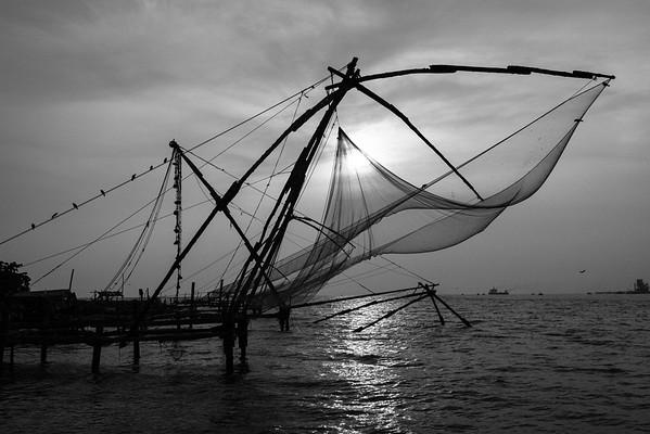 Chinese Nets of Kochi