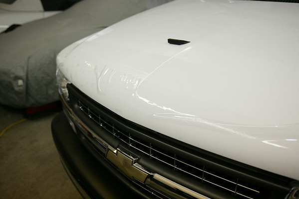 2002 Chevy P/U Small Hood and Fenders Only