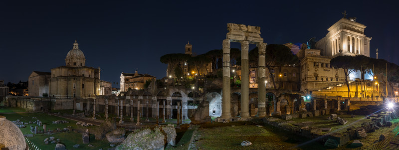 Forum of Caesar and the Capitaline Hill