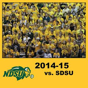 2014 Bison BB vs SDSU