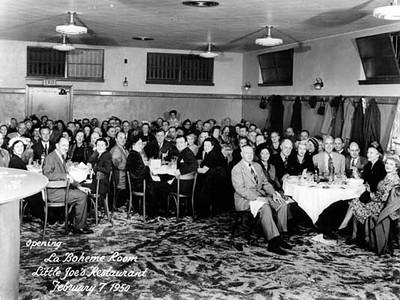 1950, La Boheme Room