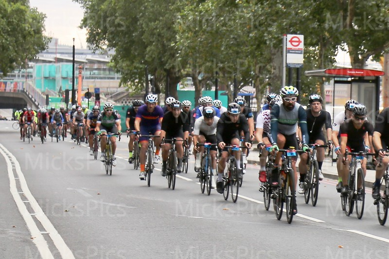 Prudential Ride London 100 .  29.7.18