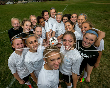 Central Valley C Squad Soccer Team Shots 2017