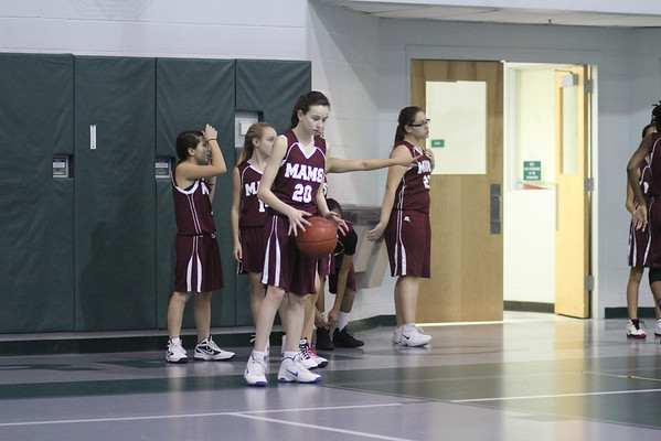 2012 Girls Basketball at Hazlet 01312013