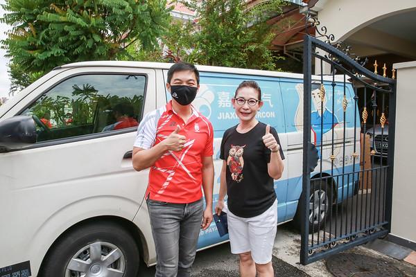 092620 Advisor visit Lorong Marican