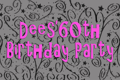 2016-10-07 Dees 60th Birthday