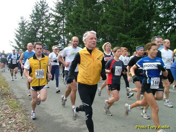 2004 Cedar 12K - A bunch o' runners