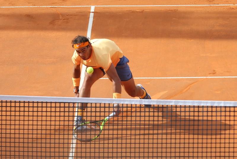 Nadal net slide
