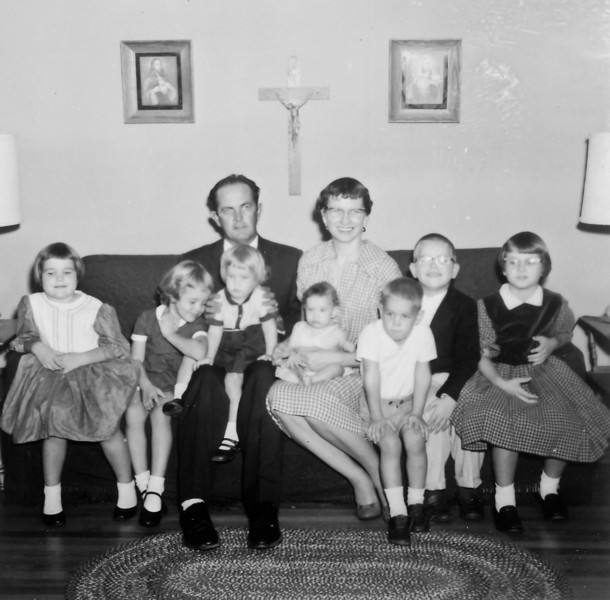 Maria and Rip Smock family Early 1960's