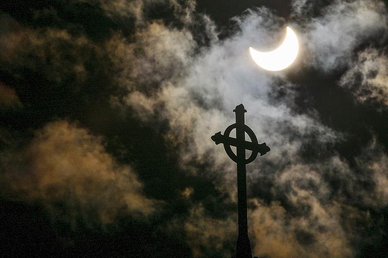 Solar Eclipse in Bellingham, Wash.