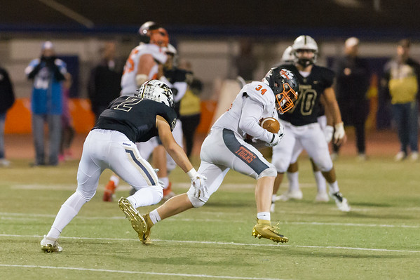 Roseville High School Varsity Football vs Buhach Colony 11-15-19 (2nd Round Playoffs)